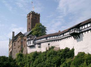 Wartburg von der Brücke (c) Lencer